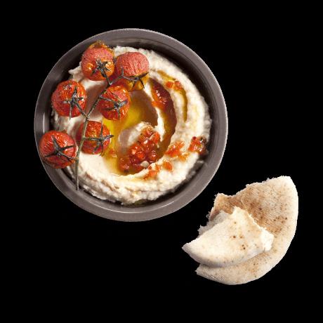 חומוס שעועית - קרם שעועית לימה